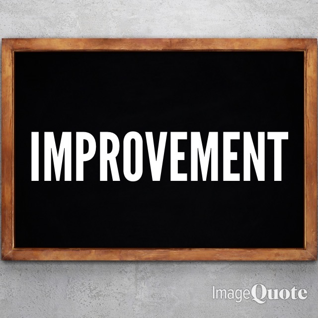 Improvement - November 2020