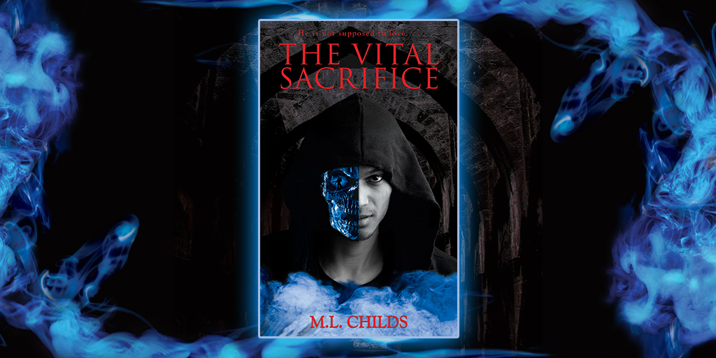 Press Kit Vital Sacrifice Cover with Design