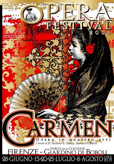 Poster for Carmen Opera