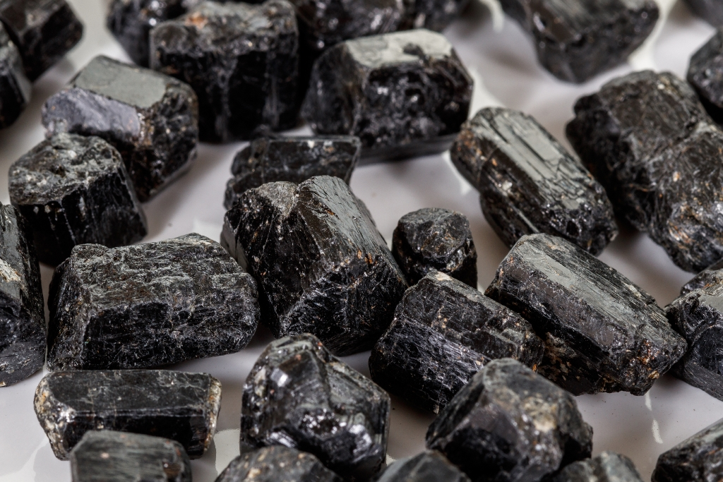 Image of black tourmaline