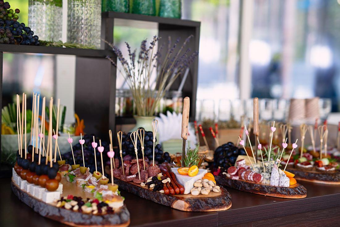 Image of an abundance of food.