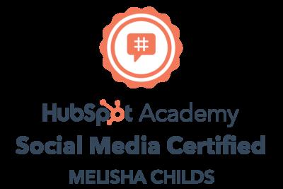 Social Media Marketing Certification badge