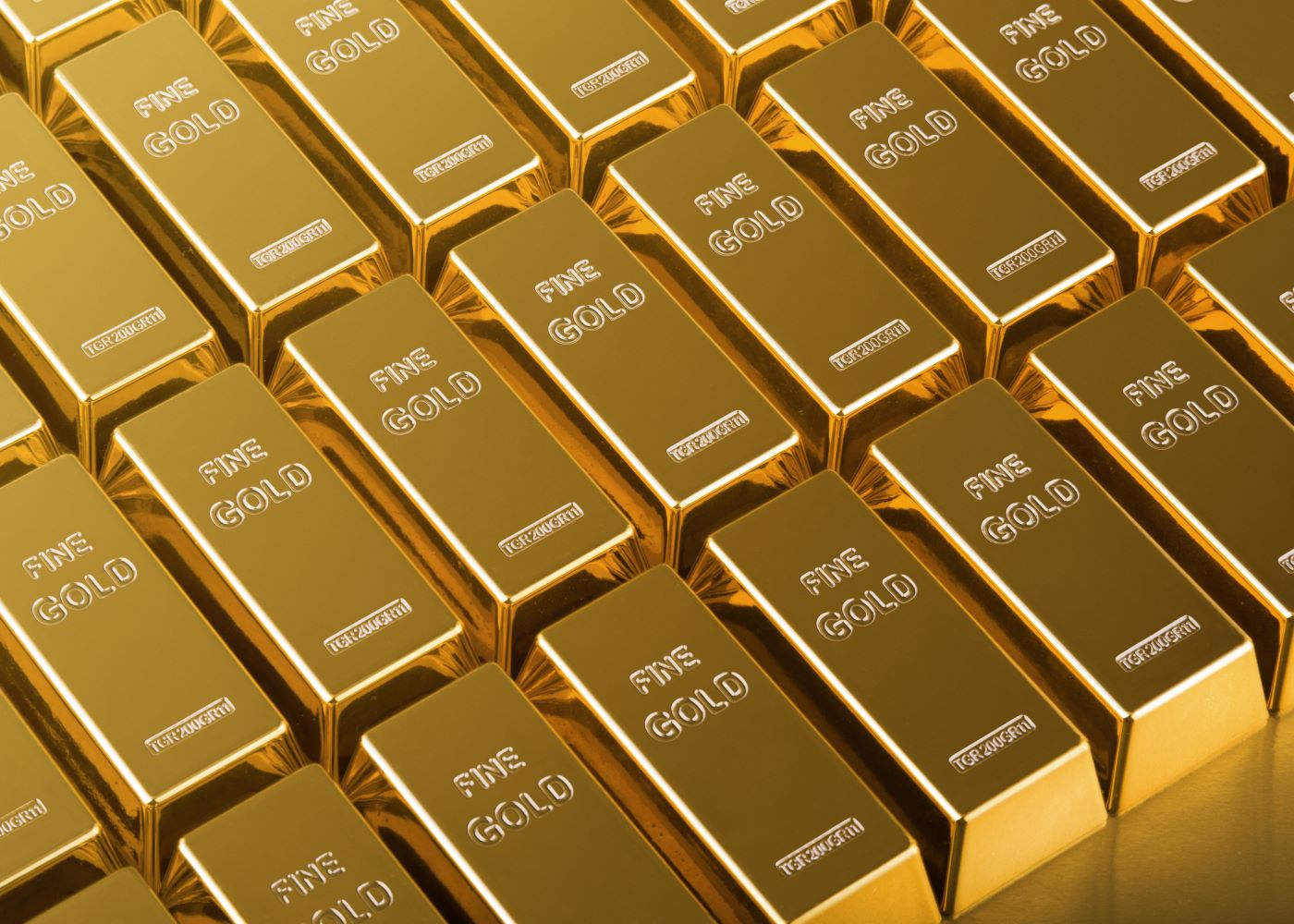 Image of gold bars representing wealth