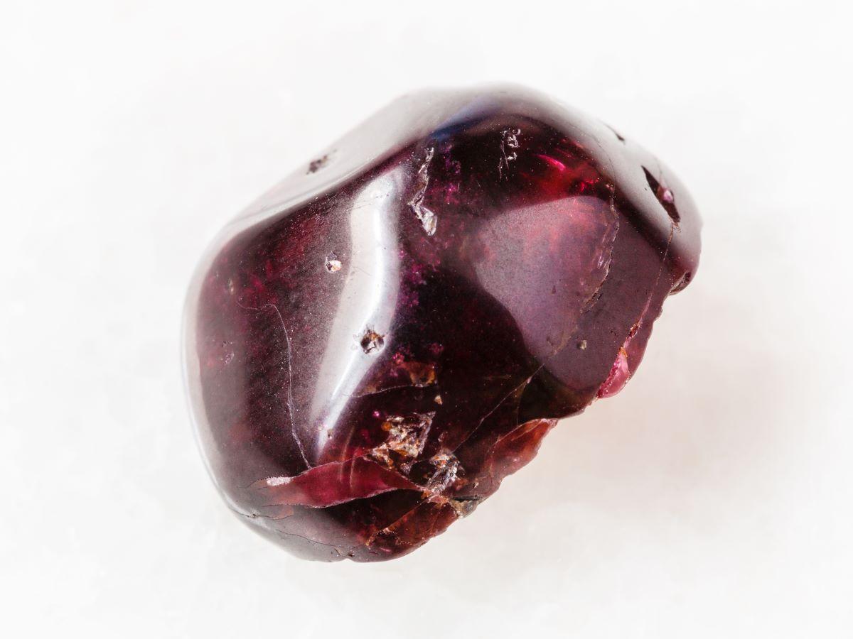 image of garnet gem