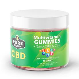 CBD multi-vitamin gummy